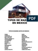 TIPOS DE MADERA EN MEXICO.pptx