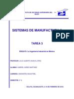 ENSAYO La Ingeniería Industrial en México