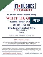 Whit Hughes Fundraising Invite #MS03