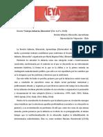 Dossier Cuerpo-Infancia-Educación - 2018