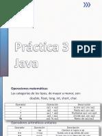 Practica 03 Java
