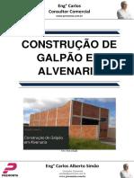 Construção de Galpão Em Alvenaria