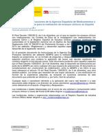 Instrucciones Realizacion Ensayos Clinicos