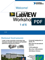 LabVIEW Proficiency Workshop 1