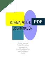 5 Estigma, Prejuicio, Discriminación