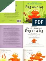 frog on a log bo
