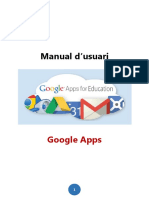 Googleapps - Manual Usuari