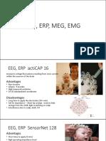 EEG, ERP, MEG, EMG children
