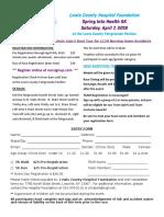 2018 Spring Into Health Registration Form