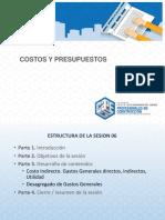 2. Presentación de La Sesión 6 Costos y Presupuestos - Rocío Otoya