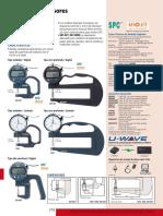 Medidores de Espesores Análogos y Digitales Serie 547 7 (2013)