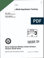 Probabilistic Multi-Hypothesis Tracking