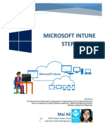 Microsoft Intune Step by Step eBook