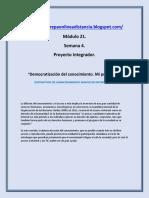 Modulo 21   M21S4 Pi Democratizacion Del Conocimiento