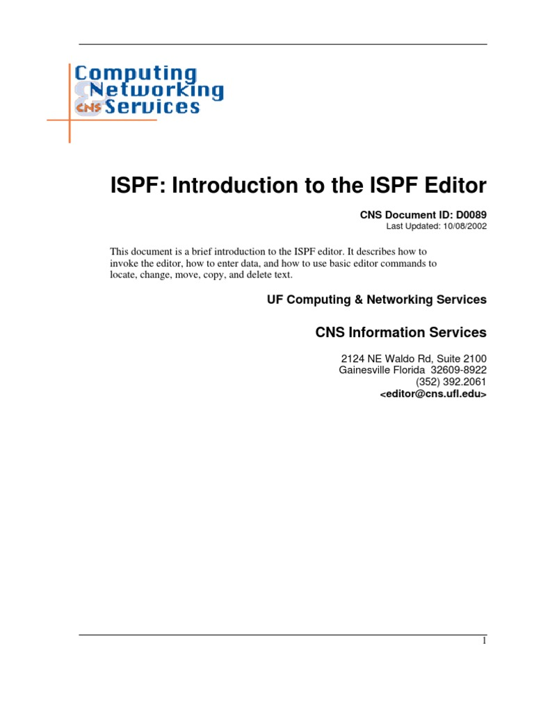 ISPF Detail | Command Line Interface | Text