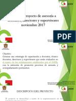 Proyecto Replanteamiento evaluación