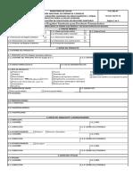F-01-Srs-pf Formulario de Solicitud de Registro Sanitario - Productos Farmaceuticos 0