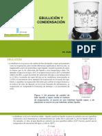 Ebullición y Condensación Clase