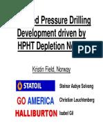 Managed Pressure Drilling Statoil