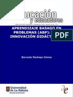Aprendizaje Basado en Problemas (ABP) Una Innovación Didáctica p