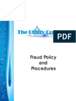 the utility companys fraud policy and procedures-signed