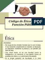 Codigo de Etica en La Funcion Publica
