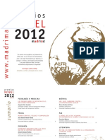 Premios Nobel 2012
