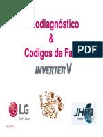 Codigos de Fallas Lg Inverter V