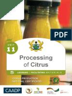 Intro to Citrus Unit 11