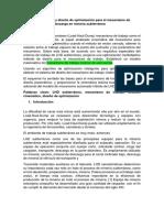 Análisis Cinemático y Diseño de Optimización Para El Mecanismo de Trabajo de Carga y Descarga en Minería Subterránea