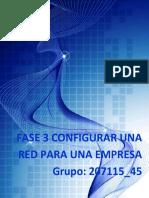 Ejemplo Configurar La Red