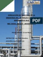 """Simulacion de Procesos de La Industria Del Petrã""""Leo y Gas Con Aspen Hysys Nbi Vers 1_broch."""