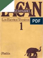 Seminario 1. Los Escritos Técnicos de Freud [Jacques Lacan]