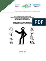 Manual Higiene y Seguridad Del Trabajo 2016