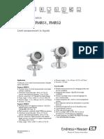 Micropilot FMR51 FMR52 TI