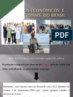 Aspectos Econômicos e Populacionais Do Brasil