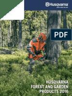 Husqvarna Products Catalog 2016