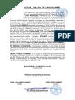 Declaracion Jurada de Union Libre de Wilkin Enrique Florentino Valdez