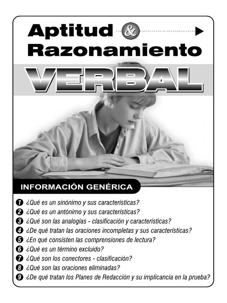 RazVerbal.pdf   Naturaleza   Sicología y ciencia cognitiva