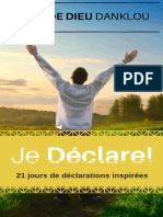 JeDeclare 21 Jours Declarations JeanDeDieu DANKLOU