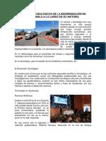 Avances Tecnológicos de La Modernización en Guatemala a Lo Largo de Su Historia
