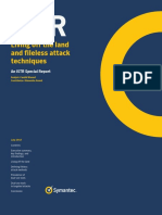 Symantec Report Fileless Attacks