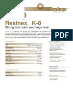 Resinex K-8