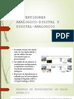 Convertidores Analogico-digital y Digital-Analogico