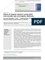 Effects of Scapular Taping in Young Adults With Shoulder Pain and Scapular Dyskinesis
