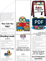 parents guide to guided reading levels k and 1st