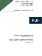 Cristian Parker y Thomas Bamat (Eds). (2001) Catolicismos Populares. Globalización, Inculturación.