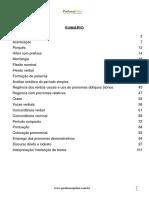Apostila de Língua Portuguesa Prof. Pólux