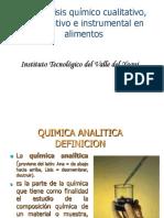 4.1 Análisis Químico Cualitativo, Cuantitativo e Instrumental en Alimentos (1)