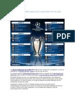 Uefa Champions League 2017